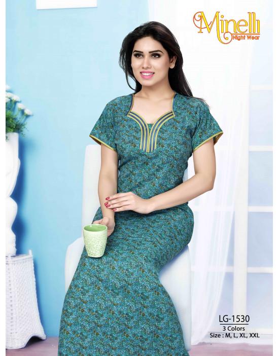 Women's Multi Color Minelli Nightwear Dress - Goldstroms