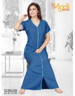 Goldstroms Nightwear Dress (Multi Color)