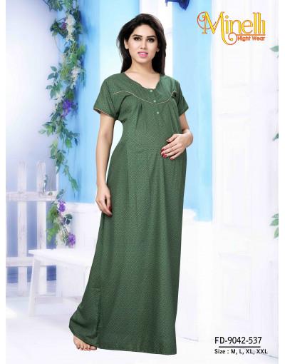 Minelli Pre and Post Maternity Nightwear Dress - Goldstroms