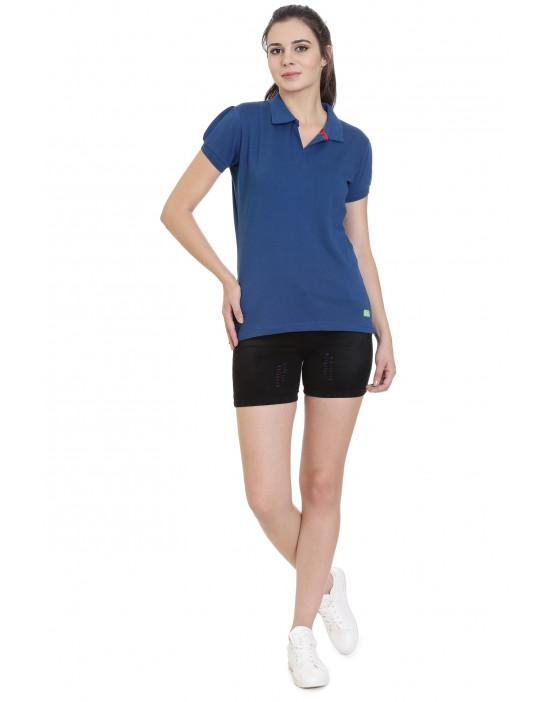 Causal Collar Long  Sleeves T-Shirt for Women