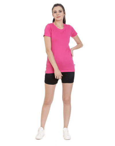 Women's Sports Wear Casual Round Neck T-Shirts - Goldstroms