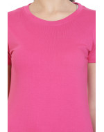 Women's Sports/Yoga/Casual Round-Neck Plain Tee/Top