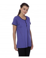 Women's Round Neck Maternity/Feeding/Nursing Tshirt/Top/Tee/Tunic
