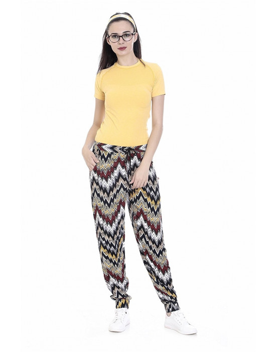 Womens Harem Pant Slim Fit Style with Bottom Grip - Goldstroms