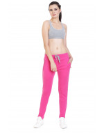 Women's Solid Yoga/Sports Track-Pant/Jogger with Zipper Pocket
