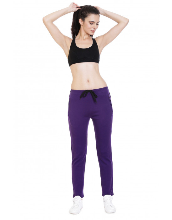 Women's Sports TrackPant/Jogger with Zipper Pocket - Goldstroms
