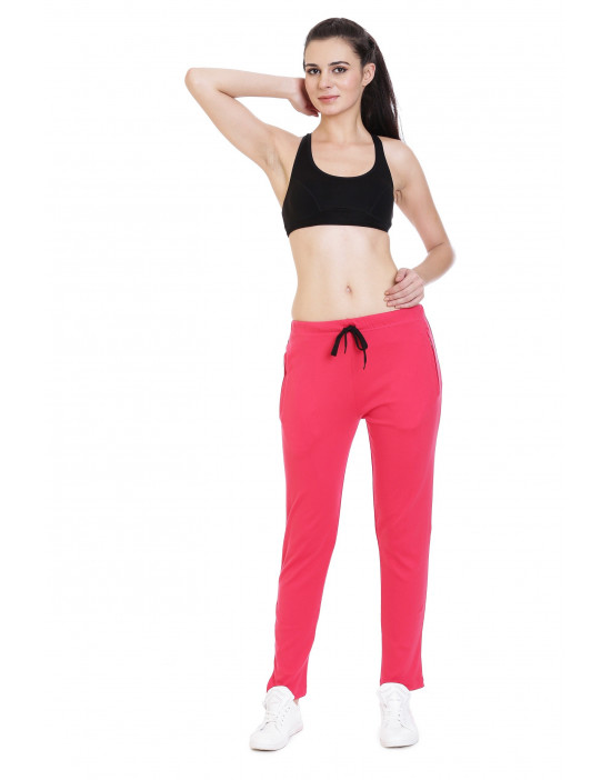 Women's Solid Yoga/Sports Track-Pant/Jogger - Goldstroms