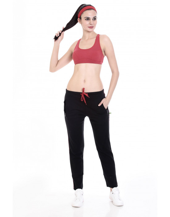 Women's Perfect Track Pant with Zipper Pocket - Goldstroms