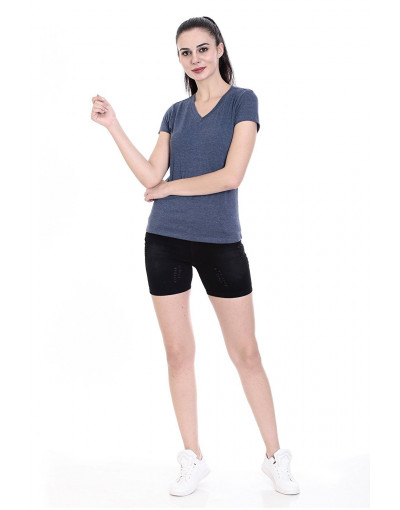 Women's V-Neck Short Sleeve Casual / Yoga Top