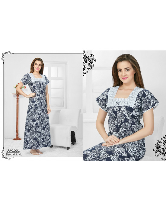 Minelli Square Neck Cotton Nighties