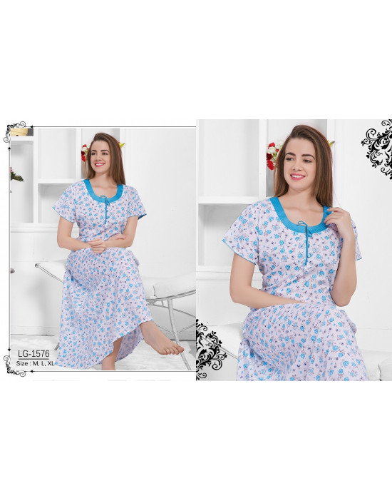 Minelli Beautiful Round Neck Cotton Nighties