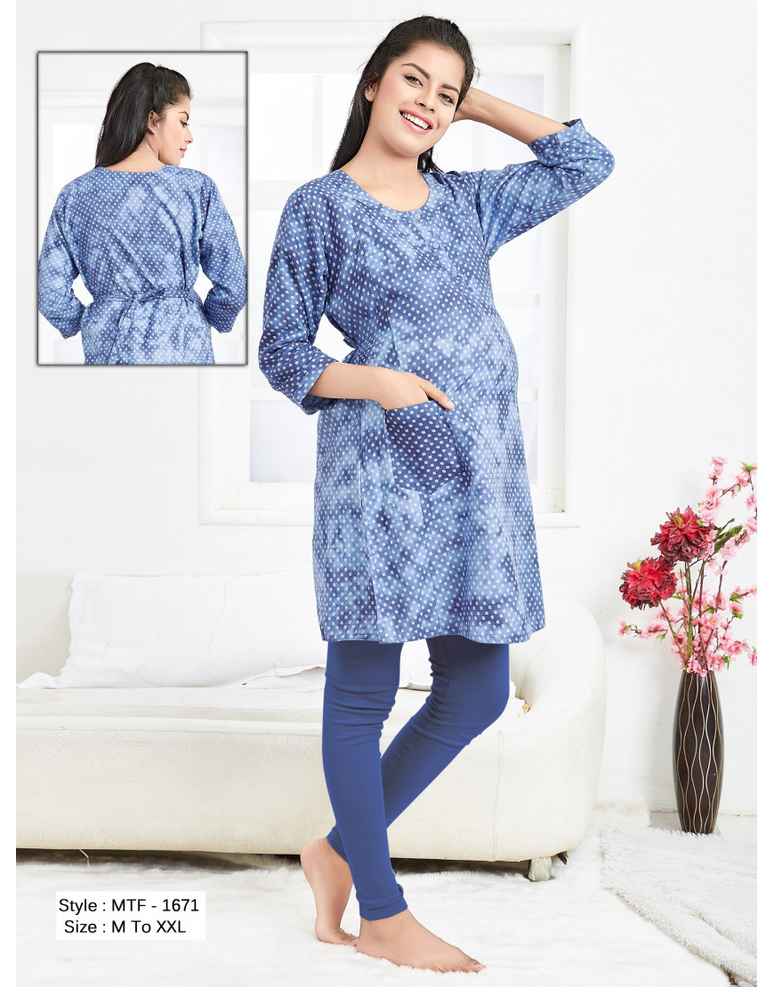 Minelli presents maternity kurtis