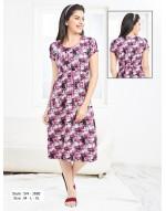 Minelli Womens Rayon Cotton Short Nighty
