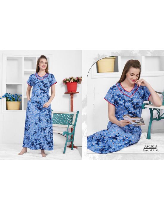 Minelli Women's V-Neck Rayon Fabric Nighties