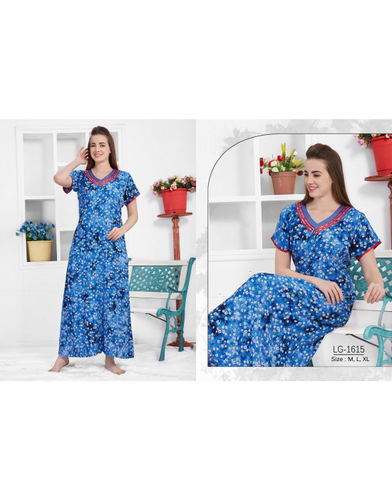 Minelli Beautiful V-Neck Rayon Fabric Nighties