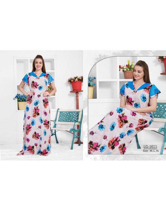 Minelli Beautiful V-Neck Rayon Fabric Nighty