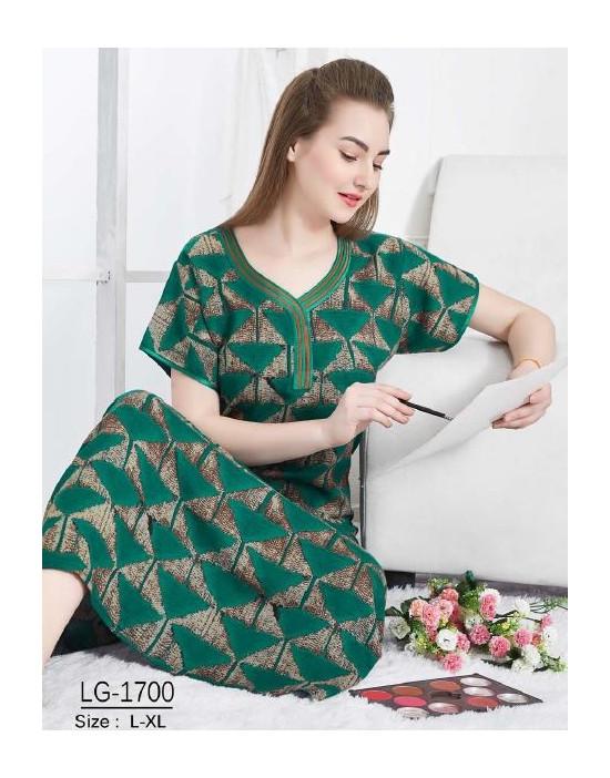 Minelli Ladies V-Neck Reyon Fabric Nighties