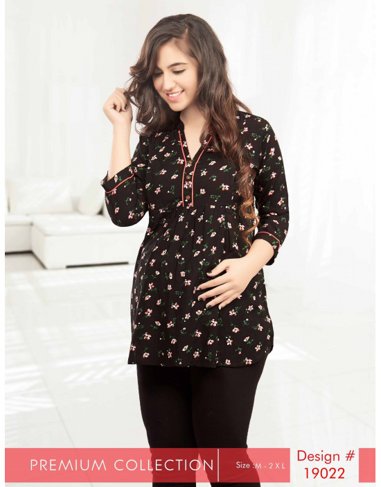 Minelli Maternity/Feeding  Short Kurtis