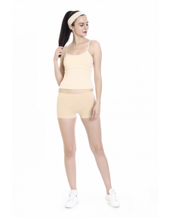 Womens Cotton Fabric Padded Camisole