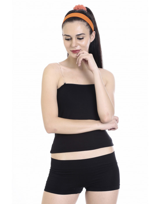 Women's Camisole with Transparent Adjustable