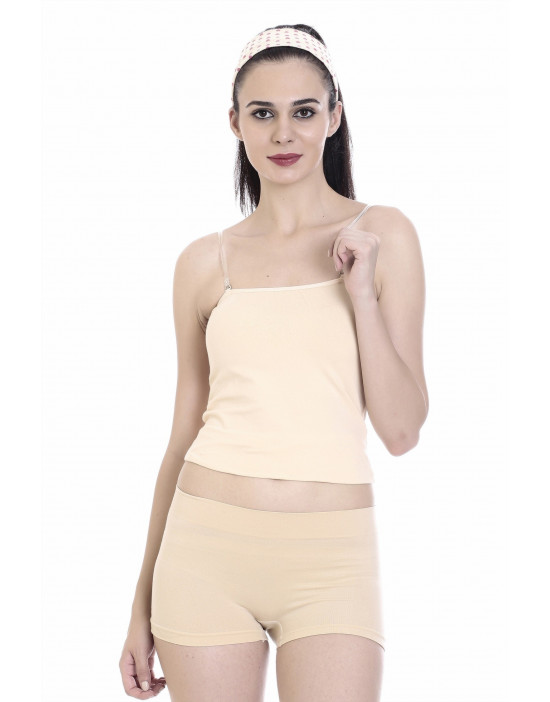 Women's Camisole with Transparent Adjustable Strap
