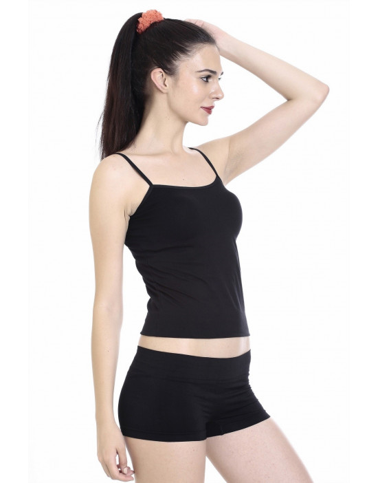 Women's Soft Fabric Camisole with Adjustable Strap