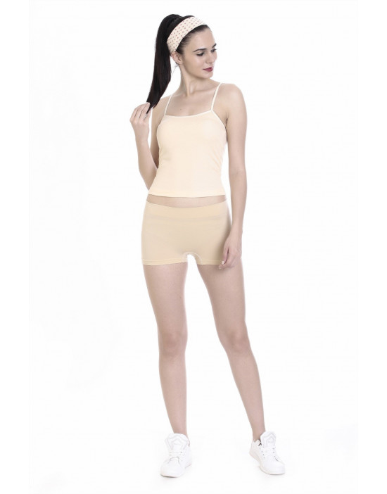 Soft Fabric Camisole with Adjustable Strap