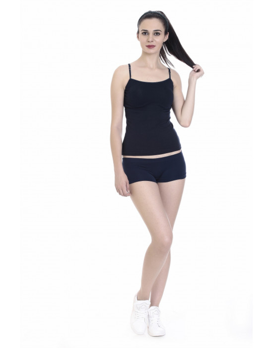 Womens Long Cotton Fabric Camisole