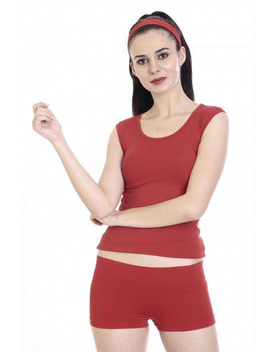 Women Half Slip Tank Top Camisole