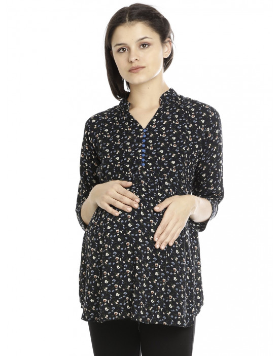 Minelli Maternity/Nursing Tunic for Women