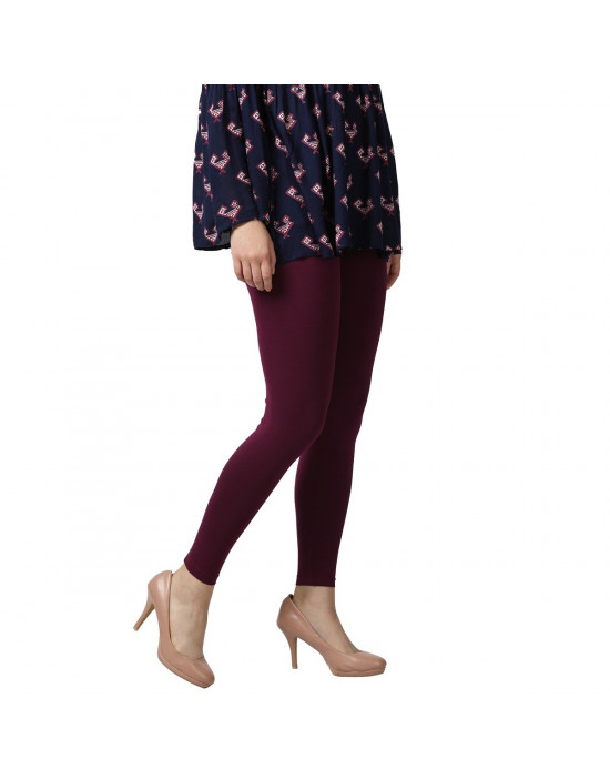 Women's Four Way Strech Ankle Length Legging