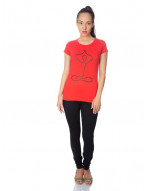 Round neck tee, regular tee, night wear tee