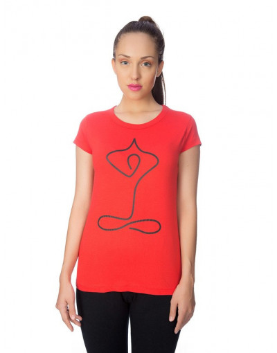 Round Neck Regular T-shirt for women - Goldstroms