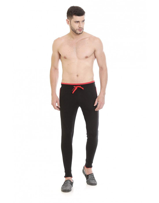 Men's New Stylish Solid Cotton Rib Jogger Pant