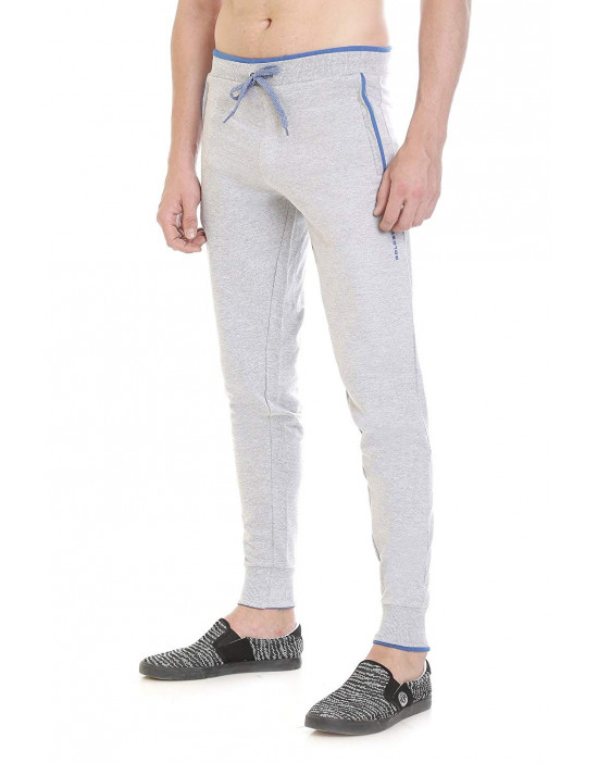 Men's New Stylish Solid Cotton Rib Jogger/Track Pant