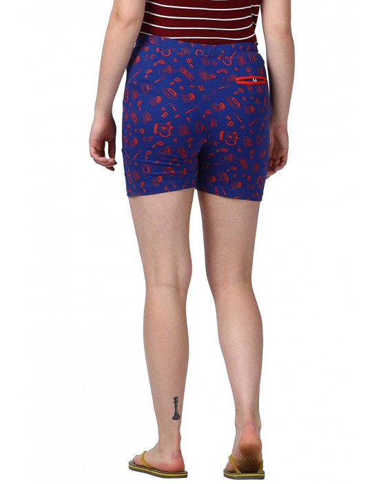 Goldstroms Printed Yoga Shorts