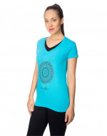 V-neck tee, regular tee, night wear tee