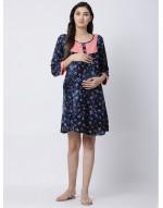 Woman Rayon Fabric Maternity/Nursing/Feeding Kurti