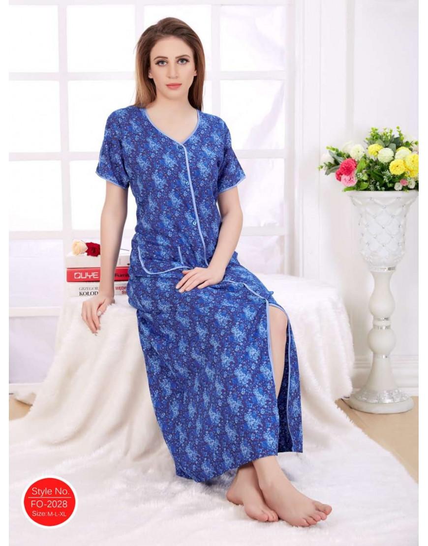 Minelli Women s Fabric Front Button Open Nightwear - Goldstroms 699986b64