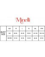 Minelli 3/4 Sleeve and V-Neck Rayon Fabric Kurti