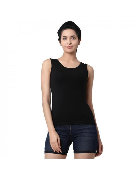 Womens Soft Cotton Fabric U Back Tank Top