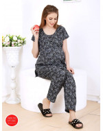 Women's Loungewear Top and Bottom Feeding Set