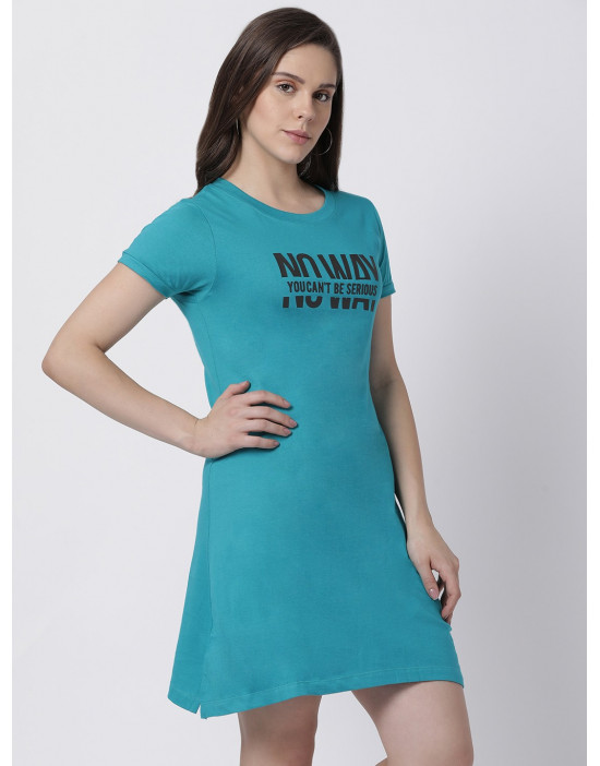 Women's Yoga/Sports/Casual Round Neck Super Long Tee