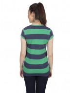 V-neck Big stripes