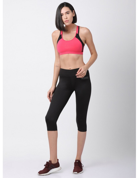 Women's Sports Dri Fit-Four Way Stretch Capri