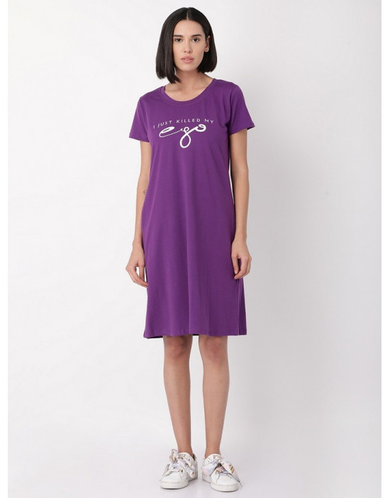 Minelli Womens Calf Length Evening/Night Gown Loungewear