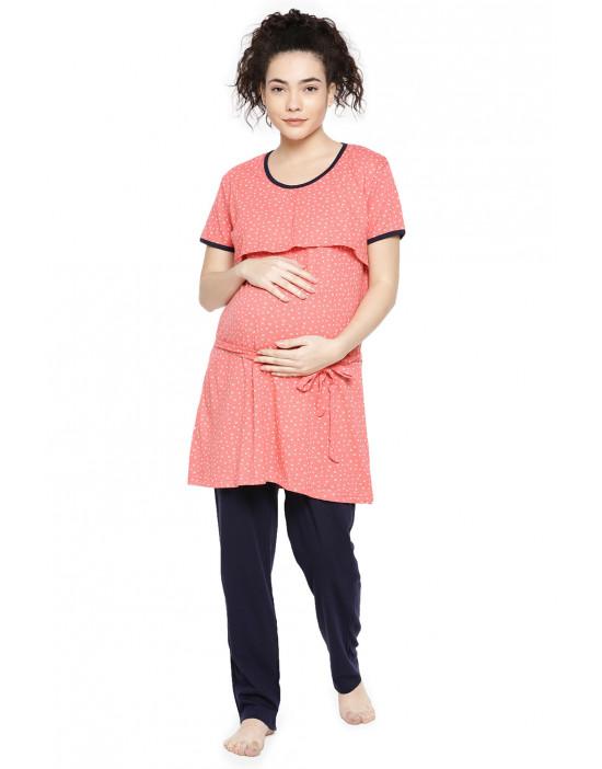 GOLDSTROMS Women's Dressing Gowns Maternity Night Dress