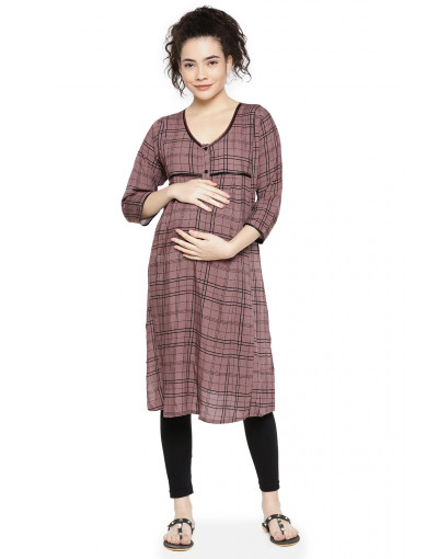 Maternity Wear: Minelli Regular Fit Kurti For Women