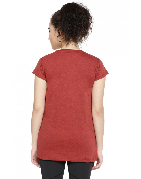 GOLDSTROMS Womens Casual Half Sleeve Long Tee