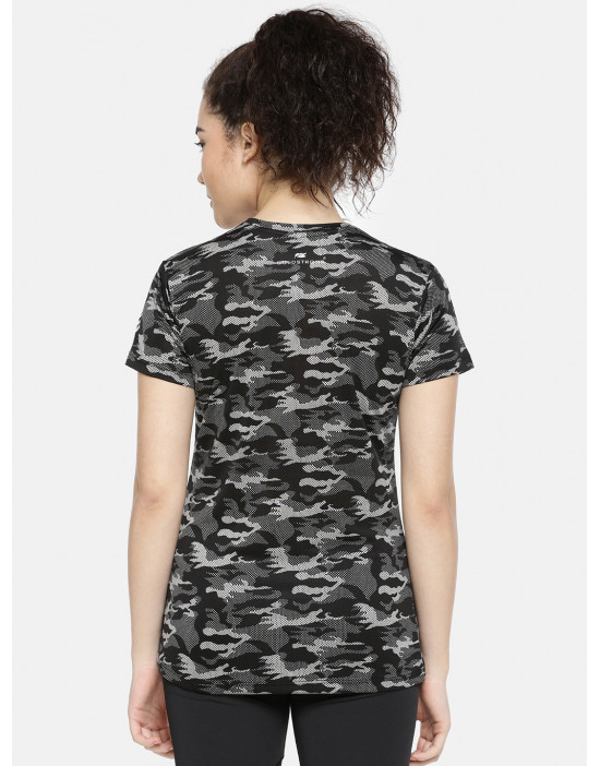 GOLDSTROMS Womens camo Print dri-fit T-Shirt